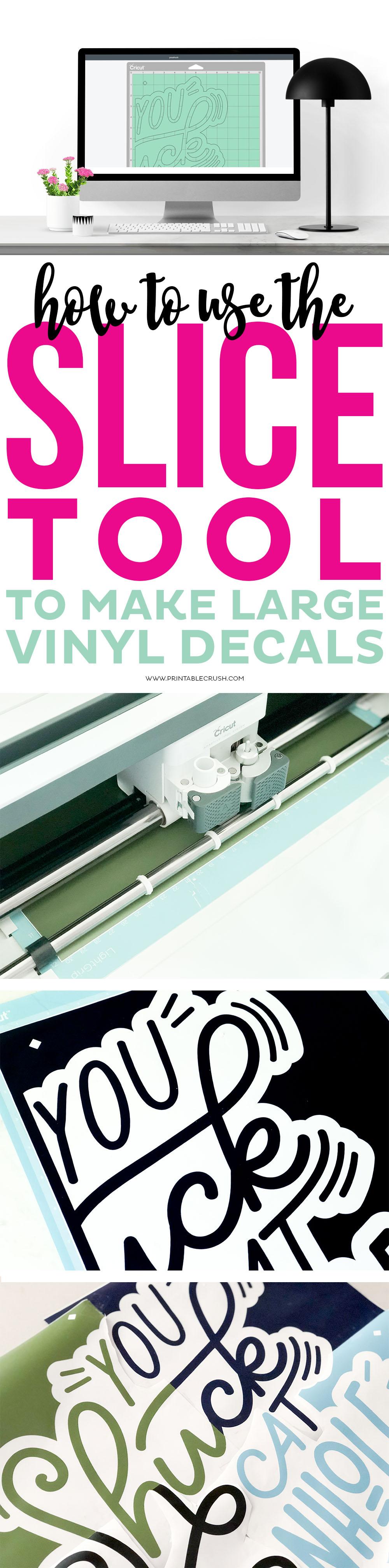 Vinyl decals long collage