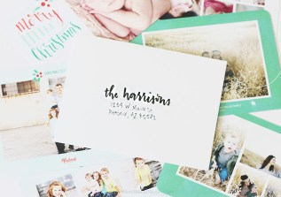 Try these 3 Different Hand Lettered Envelope Methods to addresses your Christmas Cards this year! They'll look amazing with my new Christmas Photo Card Line from Mixbook.
