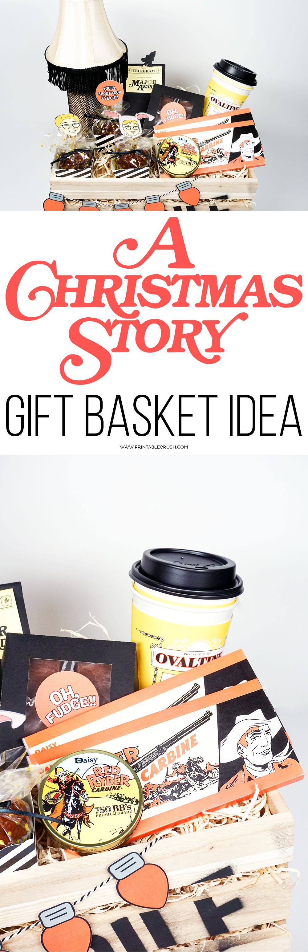 A Christmas Story Gift Basket Idea - Printable Crush