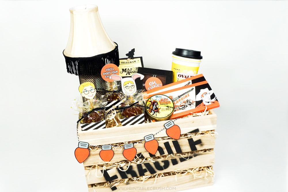 A Christmas Story Gift Basket Idea