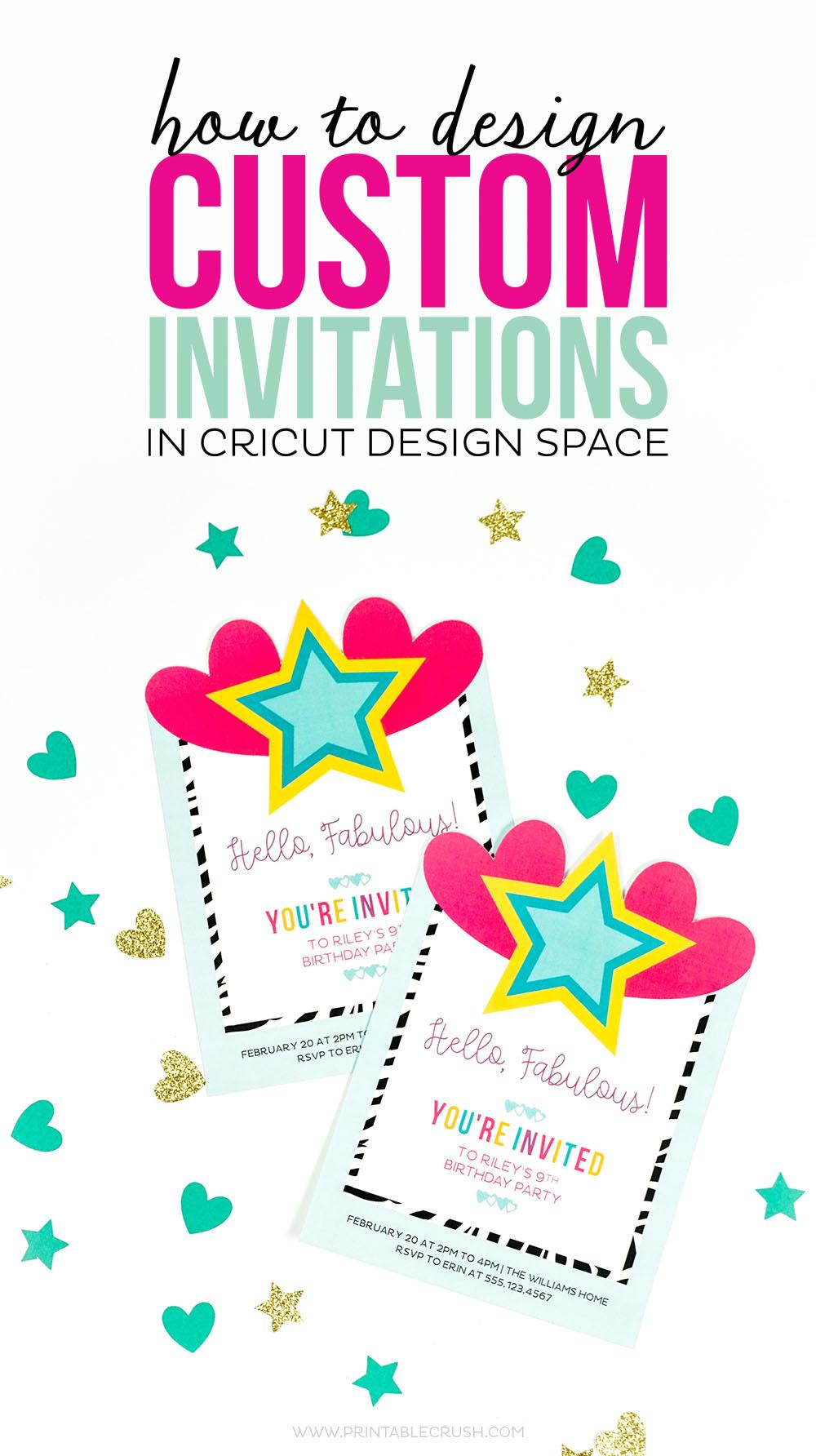 Invitation Design - Design Beautiful Custom Invitations