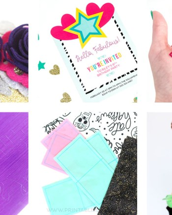 Cricut Print and Cut Materials You Need to Try - Printable Crush