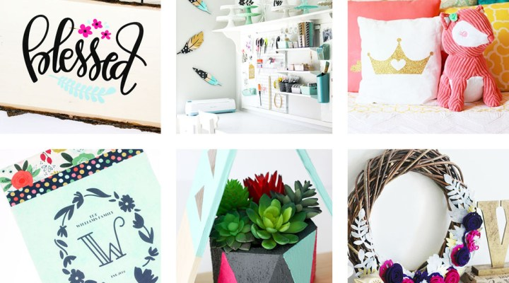 A list of the best home decor projects and ideas from Printable Crush! You'll see my office renovations, kid room ideas, DIY projects, and more!