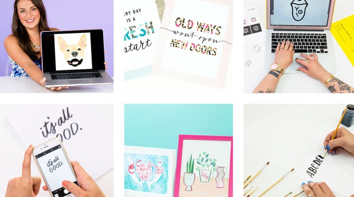Check out these 6 Awesome Brit and Co Adobe Illustrator Classes for Printable Design! If you want to design printables for profit, for classrooms, or just because, these classes will help you become a pro!