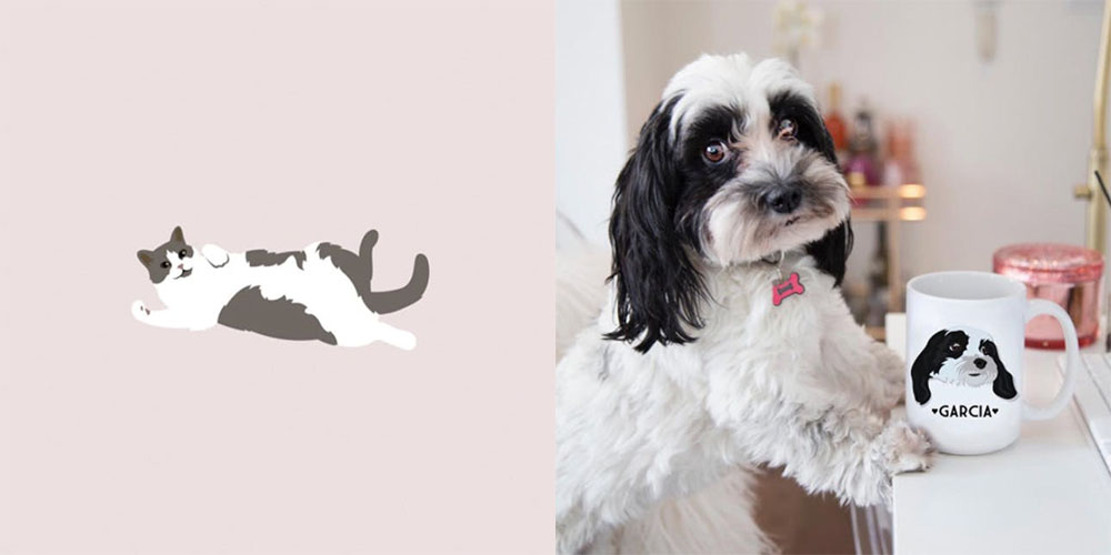 This Brit and Co Adobe Illustrator class is all about illustrating pets, but what I think will be really valuable to you is the tutorials on mastering the pen tool and layers.