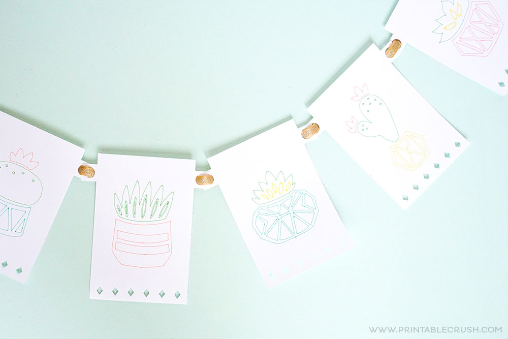 Free Cricut Party Banner Template Printable Crush