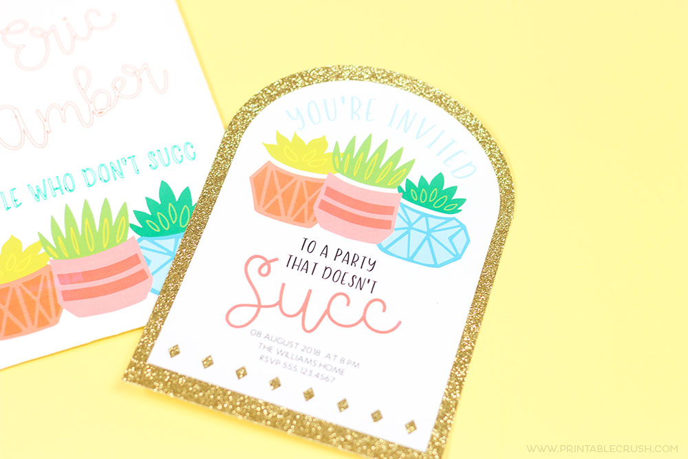 make your own invitations from svg files in cricut design