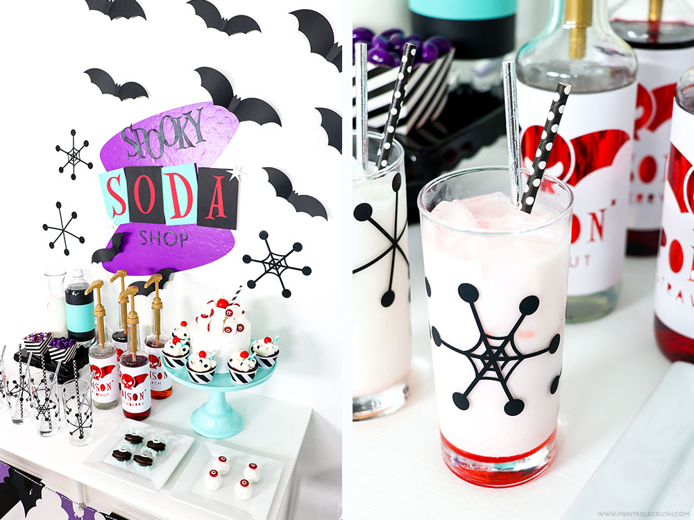 Amazingly Spooky Soda Shop Halloween Party Ideas!