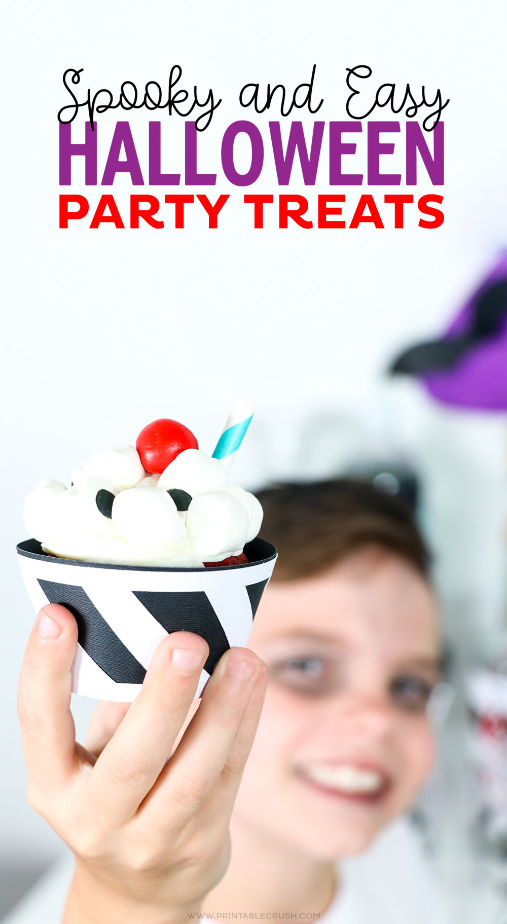Check out Four Spooky and EASY Halloween Party Treats that your kids will LOVE!