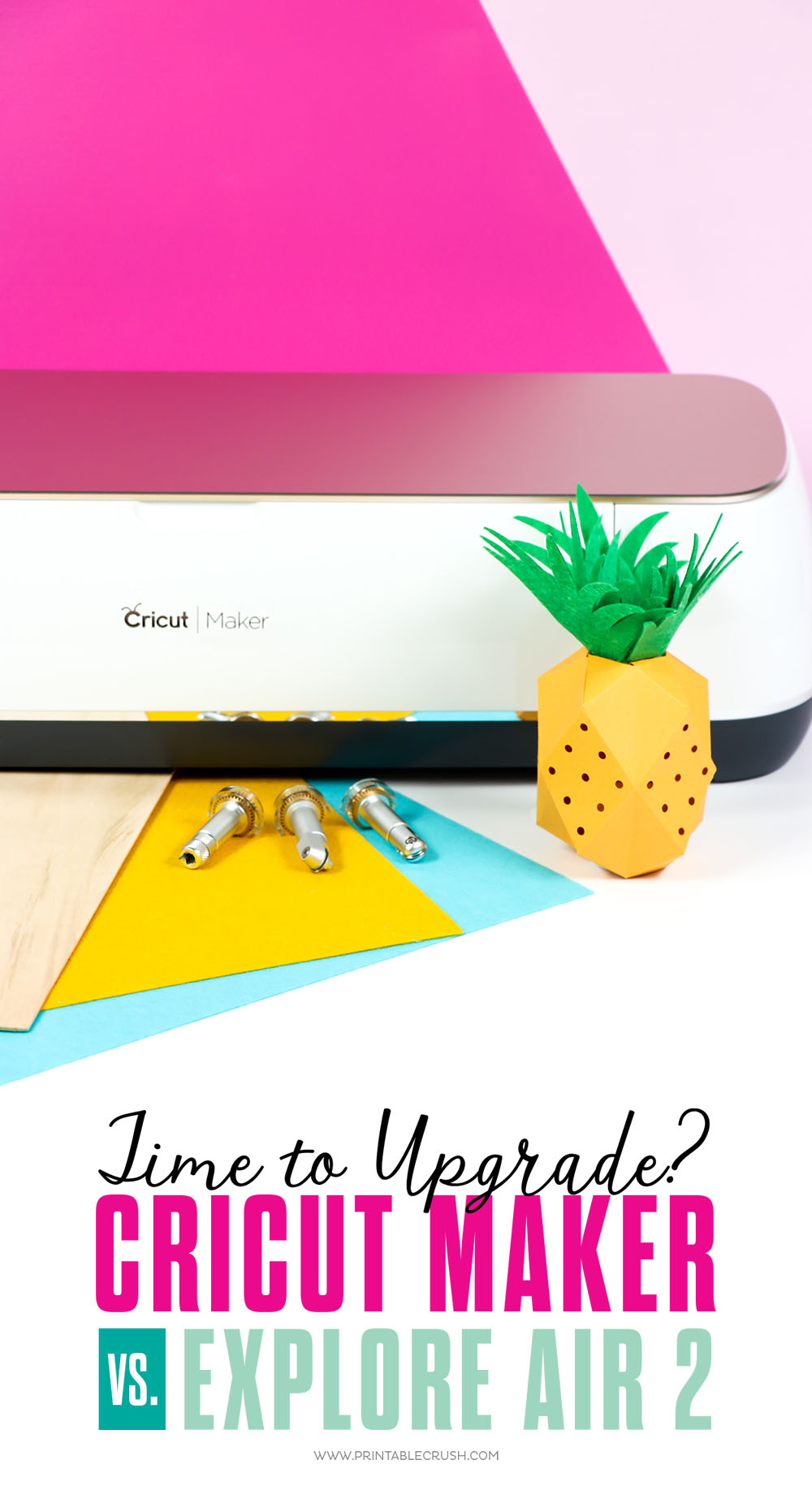 Looking to upgrade to the Cricut Maker from your Explore Air 2? Check out all the amazing features of the Cricut Maker!