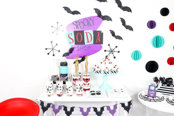 Spooky Soda Shop Cricut Halloween Ideas - Printable Crush