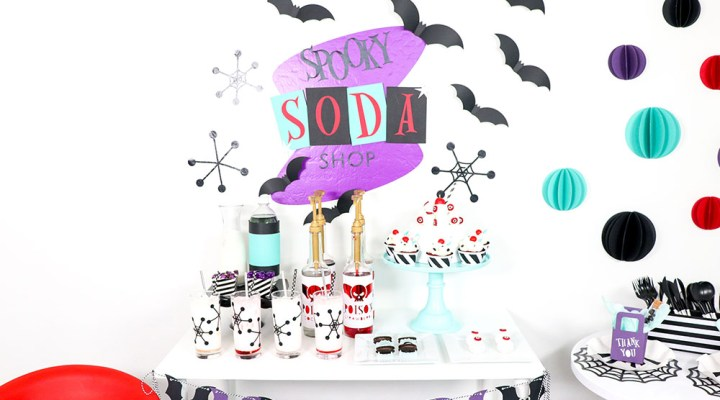 Spooky Soda Shop Halloween Party Ideas