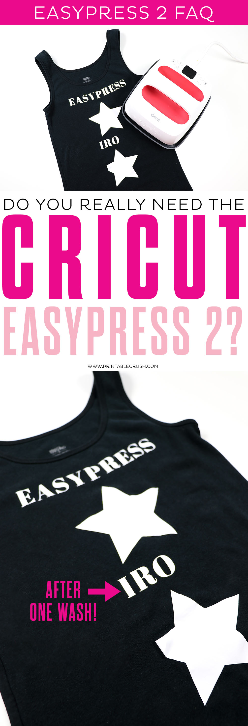 On the fence about the EasyPress 2? I'm answering some Cricut EasyPress 2 FAQs and I'm pretty sure you'll be convinced!