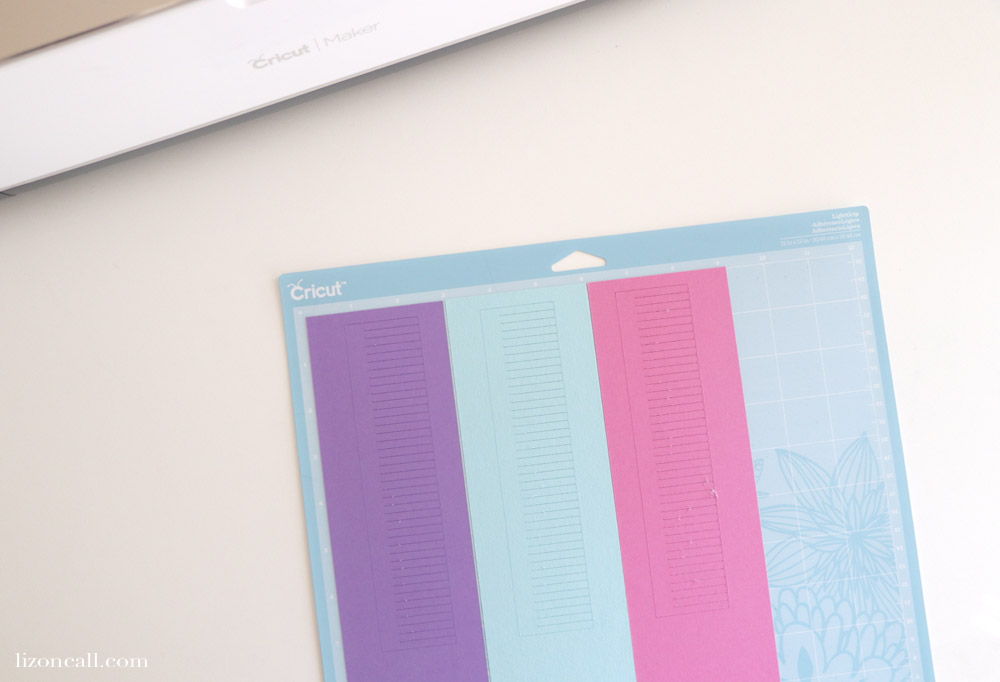 These Tassels go perfectly with some Print and Cut Unicorn Bookmarks!