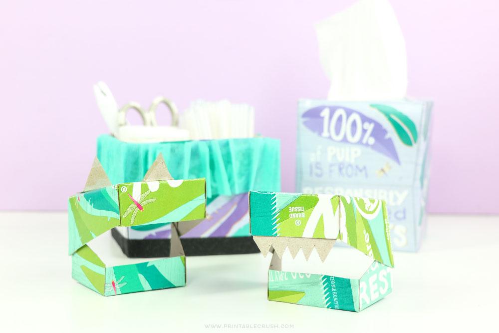 Kleenex® Tissue Box Earth Month Craft Ideas for Kids