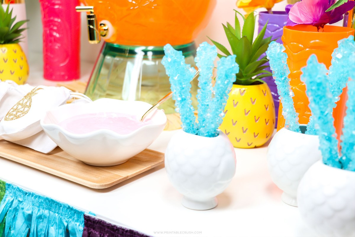 Easy Hawaiian Luau Party Ideas