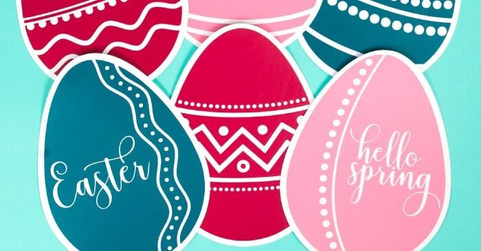 Easter Eggs SVG Files
