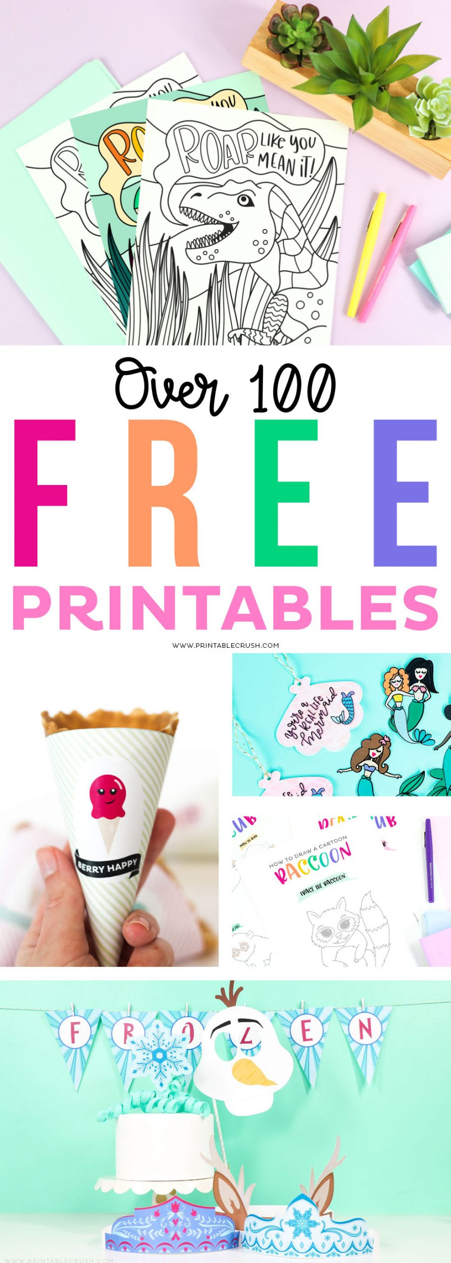 Printables for every occasion - over 100 free printables - printable crush