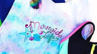 Mermaid Life DIY Beach Bag