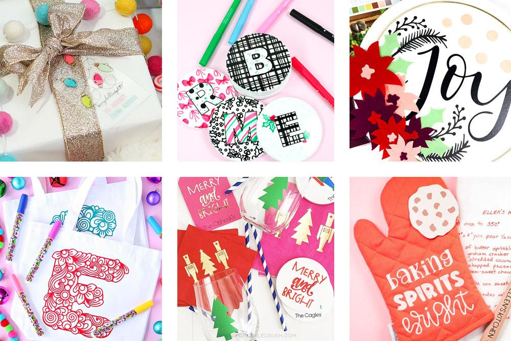 Over 30 Custom Cricut Holiday Gift Ideas
