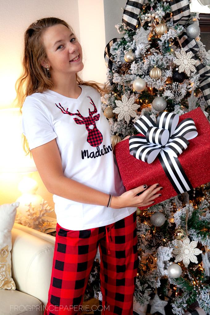 Personalized Pajamas Gift Idea