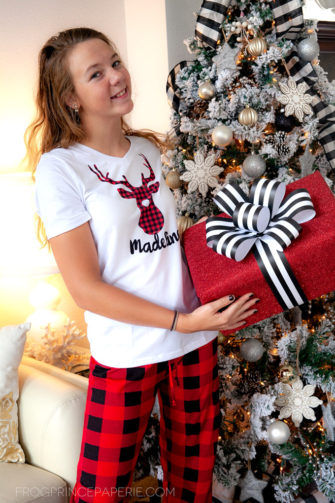 Personalized Pajamas Gift Idea