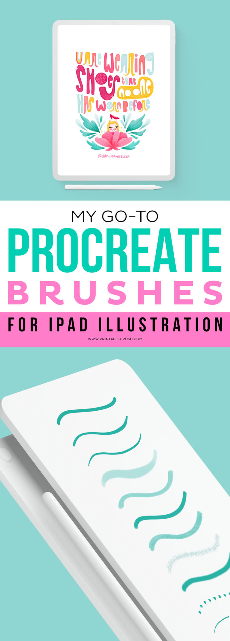 Top Procreate Brushes for iPad Illustration