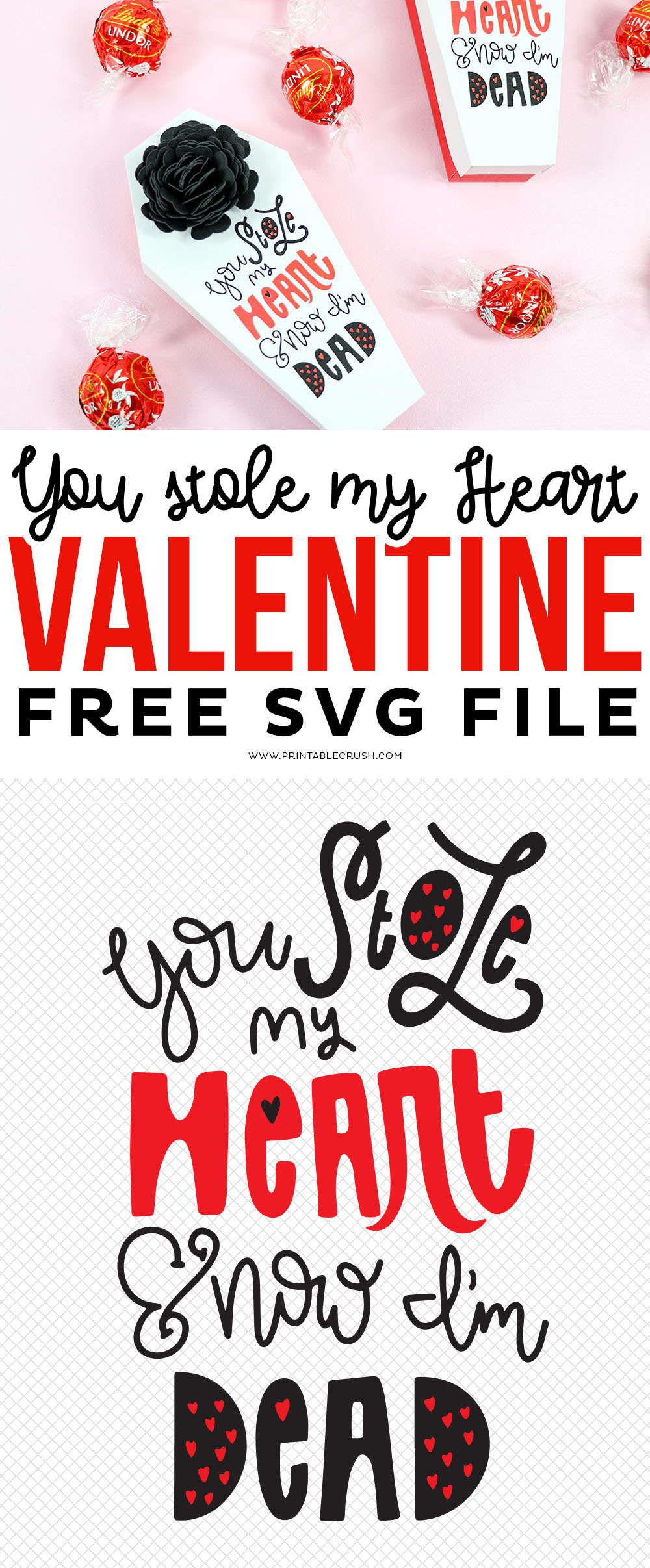 Morbid and Free Valentine SVG File