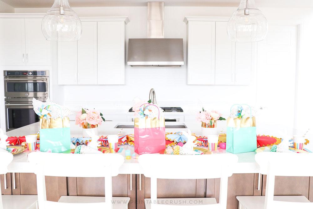 Easter Kiddie Table