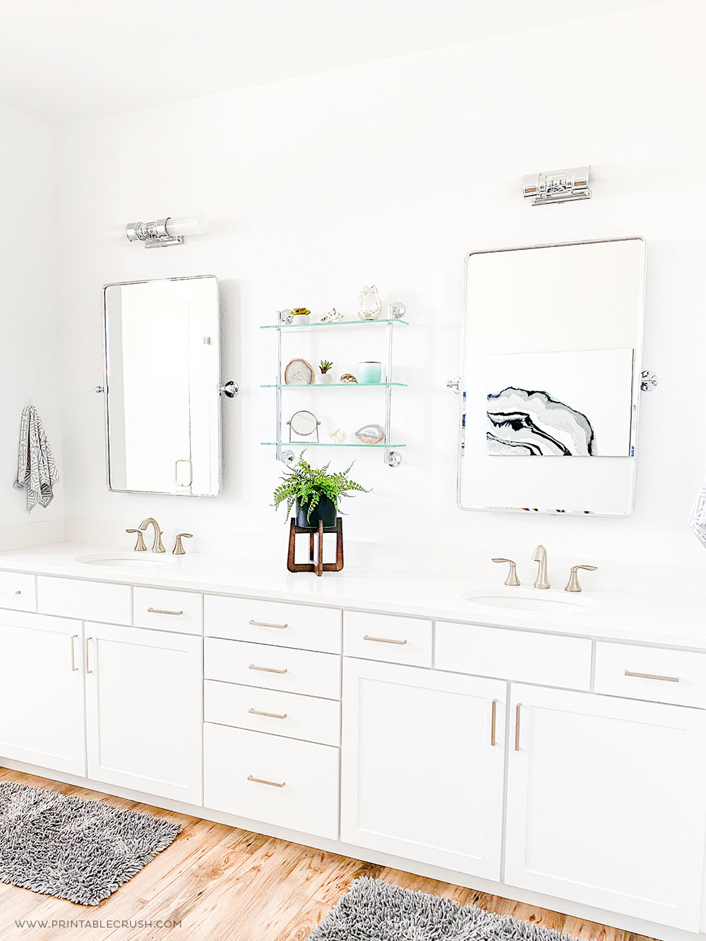 How to Keep Your Bathroom Clean - Printable Crush
