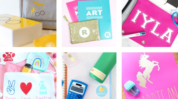 Personalized Cricut Back to School Supplies - Printable Crush