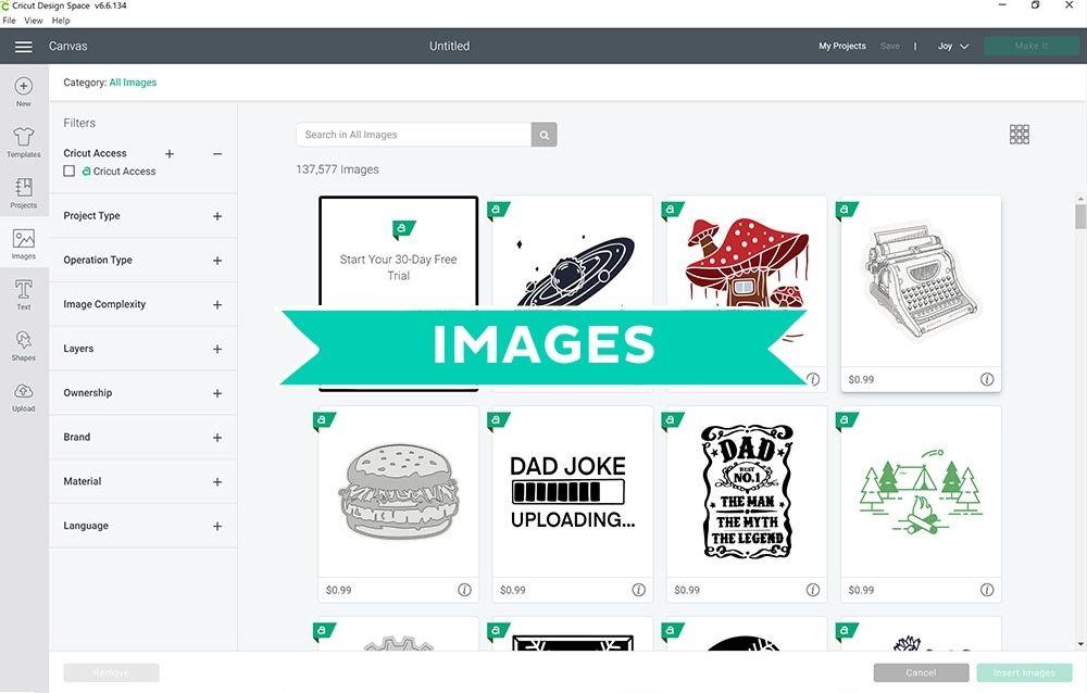 Cricut Design Space Images