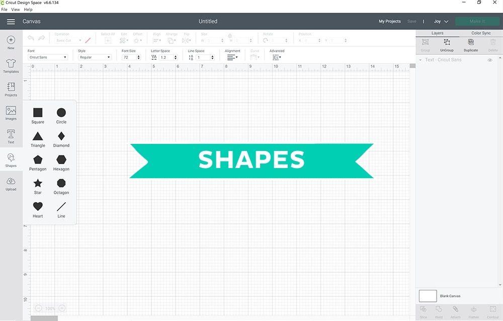 Shapes screenshot