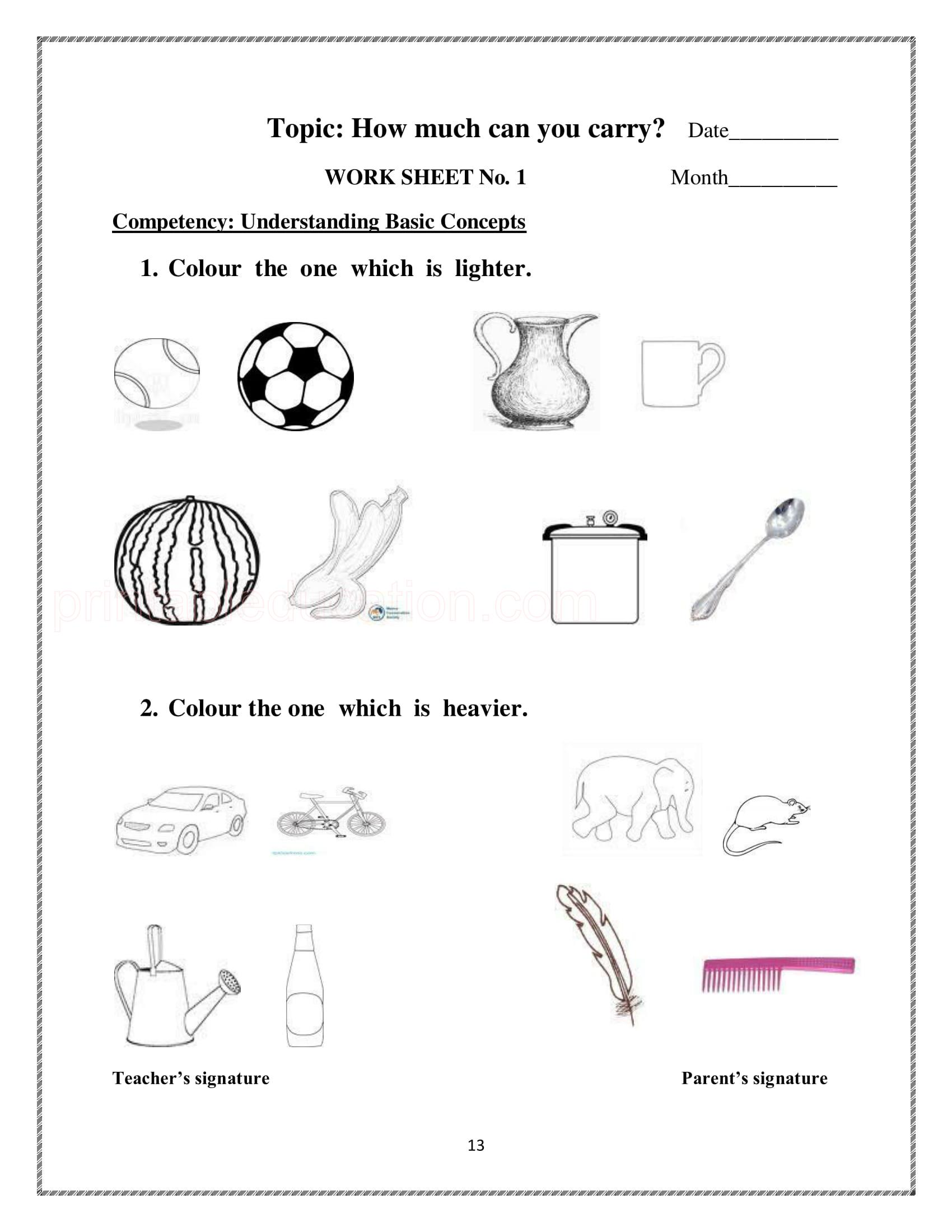 Coloring Painting Worksheets For Kids