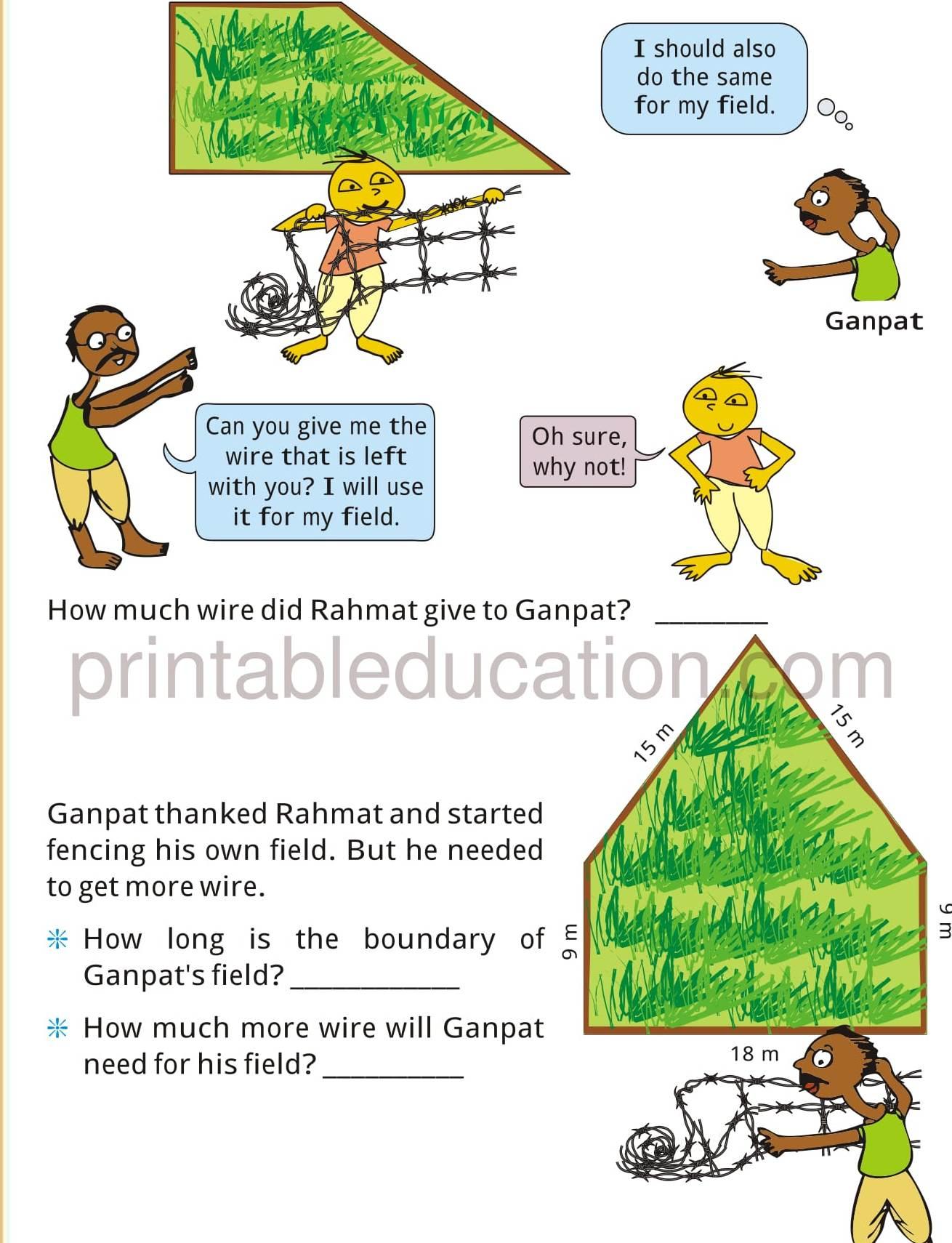 Grade Four Mathematics Activity Worksheets