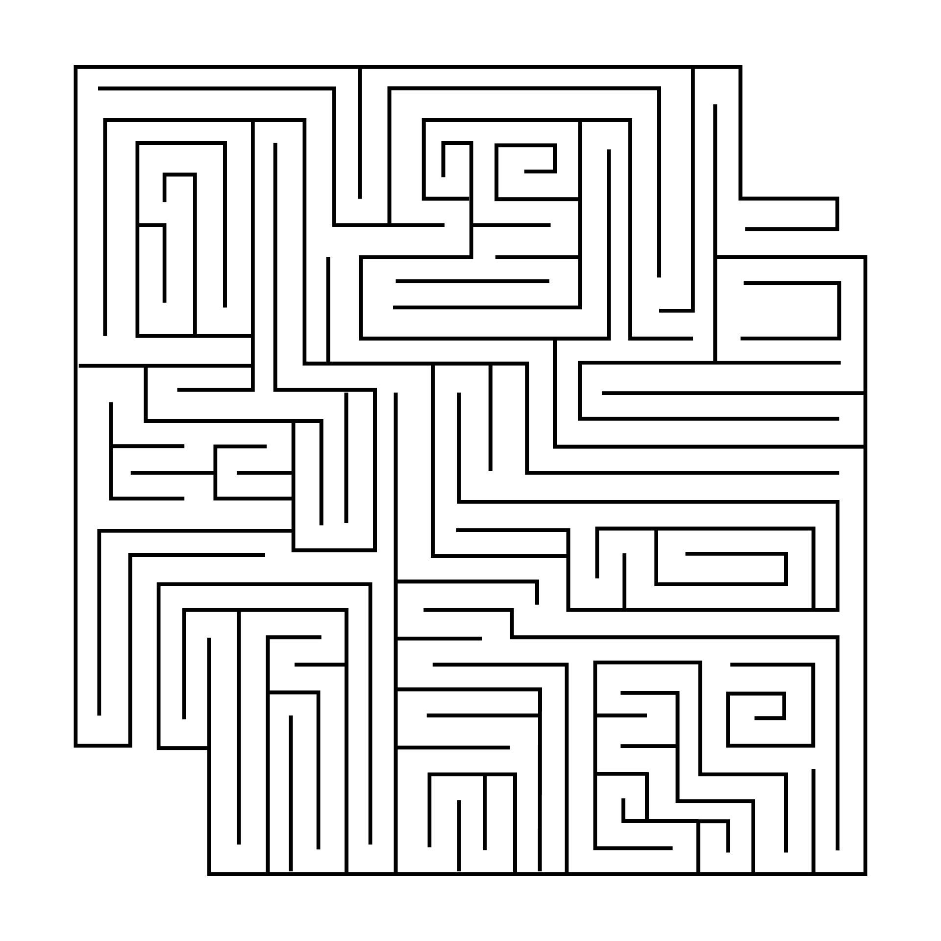 9 Best Hard Printable Mazes Printablee Com