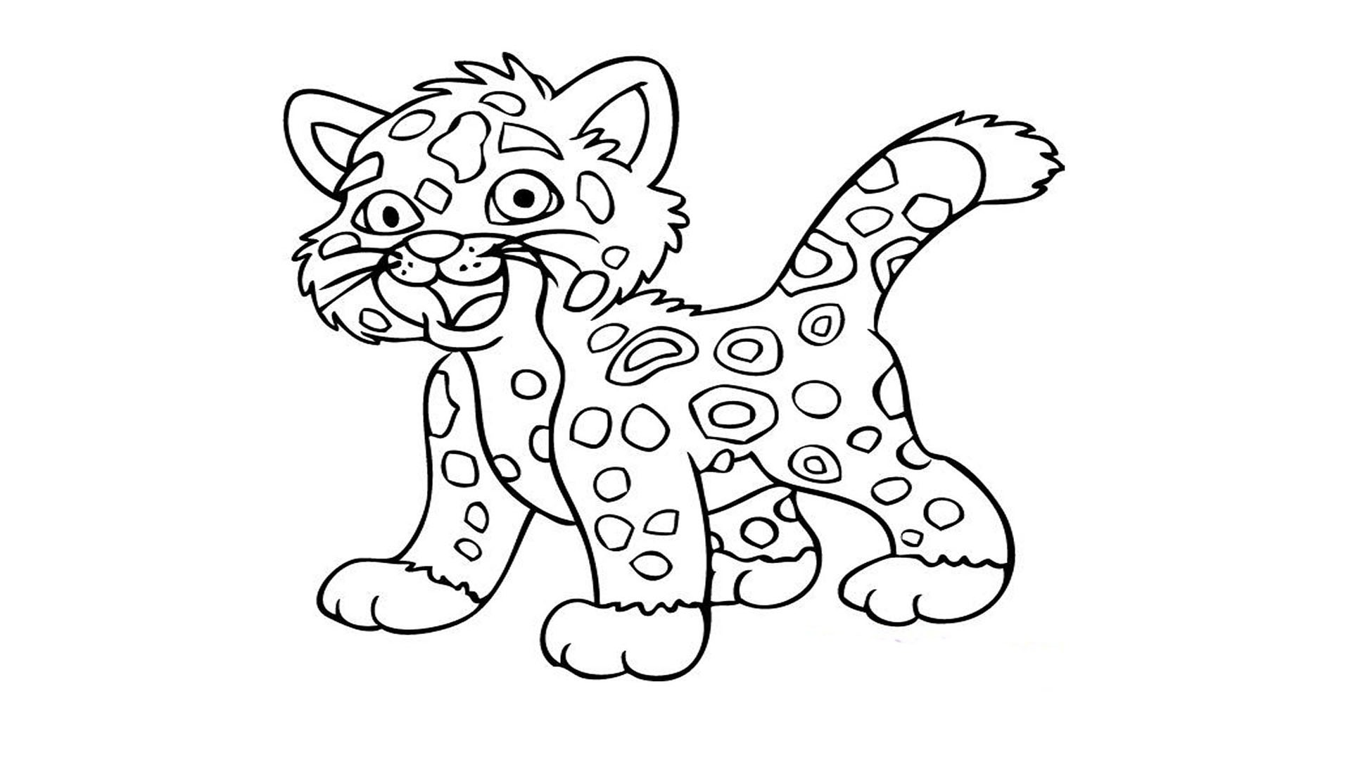 Tiger Animals Printable Coloring Pages