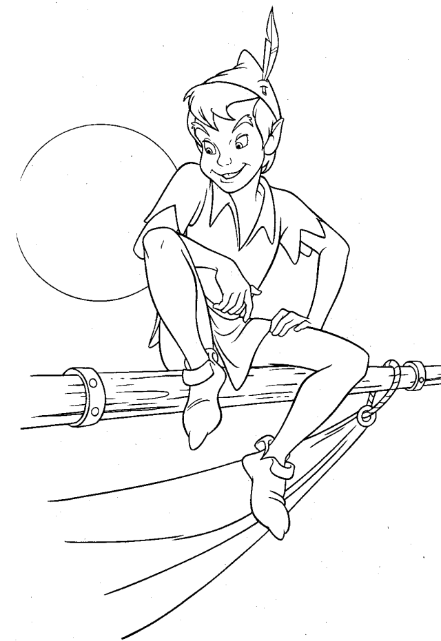 Peter Pan #23 (Animation Movies) – Printable coloring pages