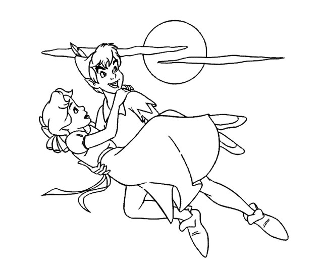 Peter Pan #10 (Animation Movies) – Printable coloring pages