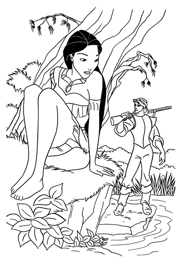 Pocahontas #30 (Animation Movies) – Printable coloring pages