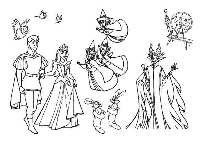 Sleeping Beauty #26 (Animation Movies) – Printable coloring pages