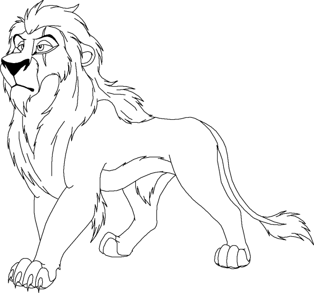 The Lion King #9 (Animation Movies) – Printable coloring pages