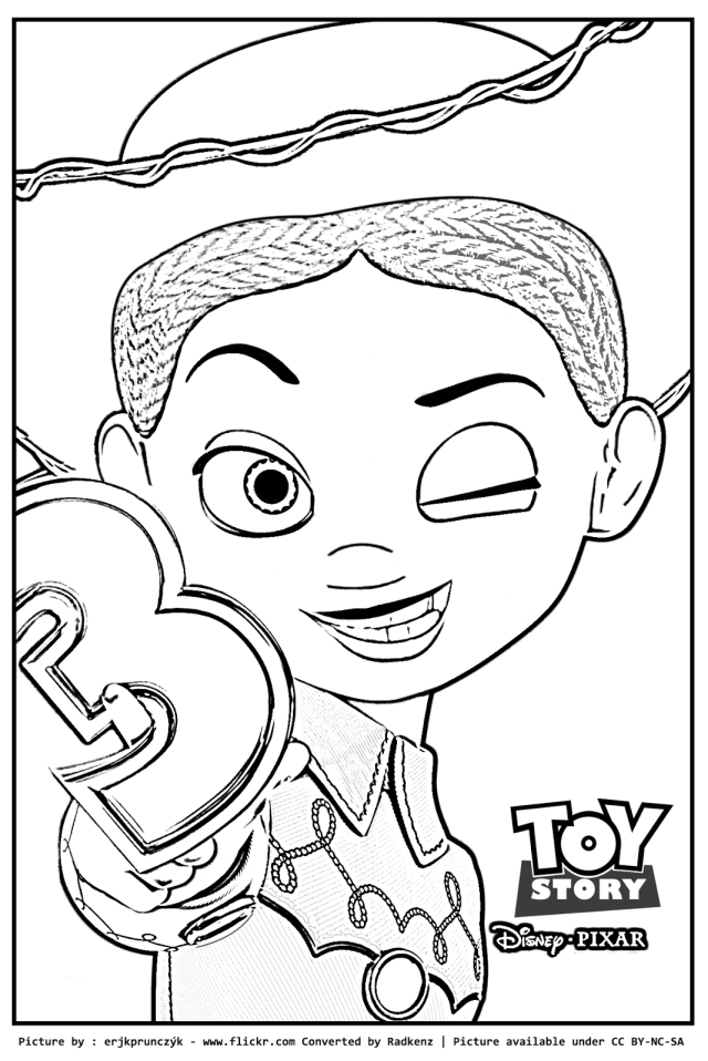 Drawing Toy Story #26 (Animation Movies) – Printable coloring pages