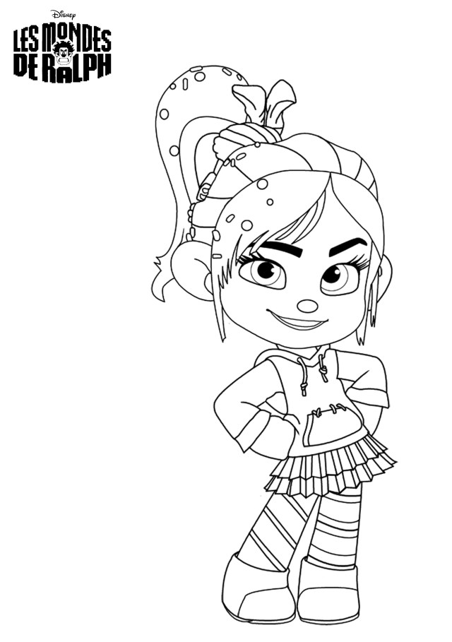 Wreck-It Ralph (Animation Movies) – Printable coloring pages