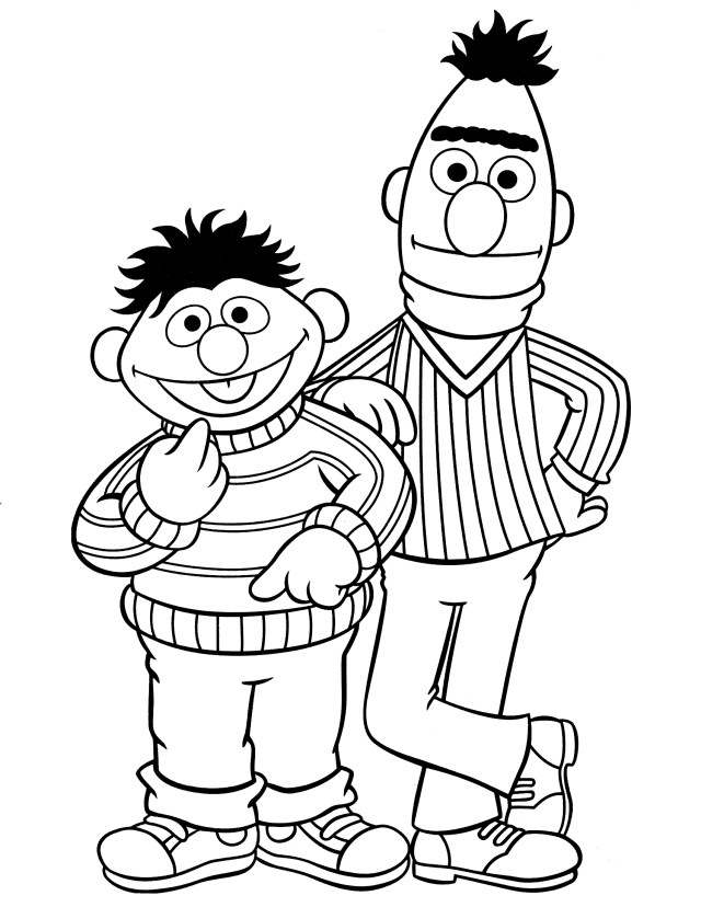 Drawing Sesame street #15 (Cartoons) – Printable coloring pages
