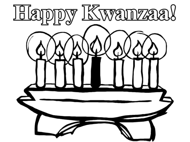 Kwanzaa #20 (Holidays and Special occasions) – Printable