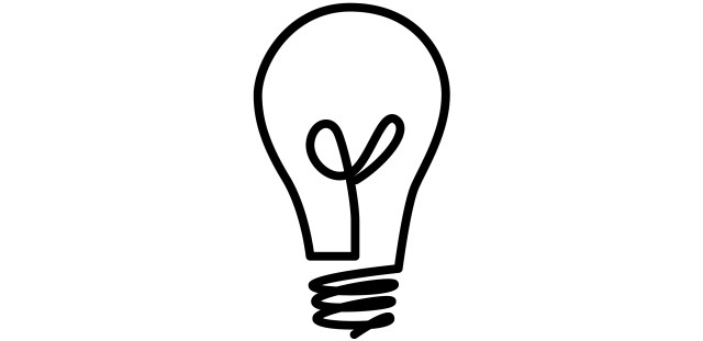Light bulb #17 (Objects) – Printable coloring pages