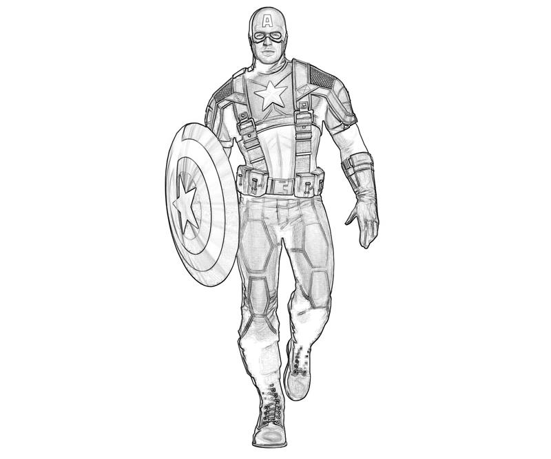 Captain America 76574 Superheroes Printable Coloring Pages