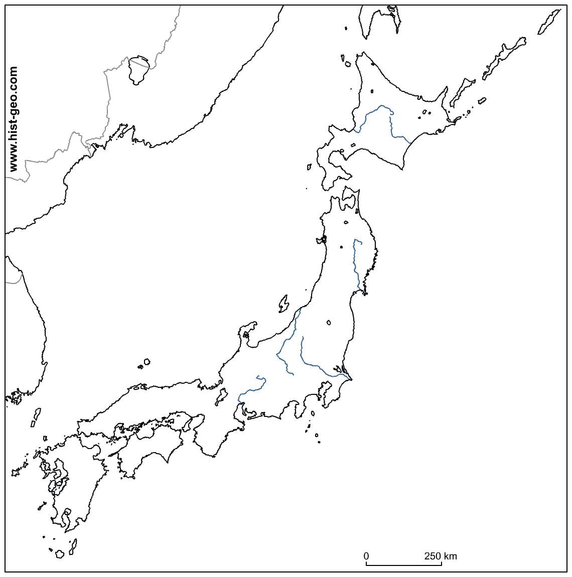 Printable Map Of Japan Printable Calendar Posters Images Wallpapers Free