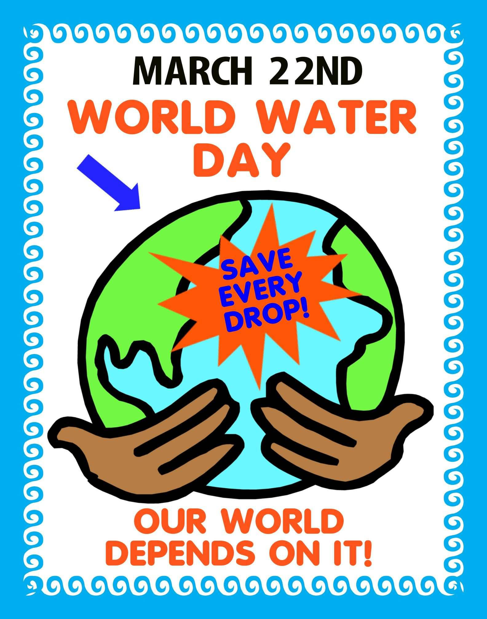 World Water Day Poster Printable Calendar Posters